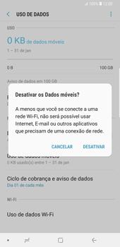 Como ativar e desativar uma rede de dados - Samsung Galaxy S9 Plus - Passo 6