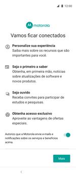 Como ativar seu aparelho - Motorola One Action - Passo 12