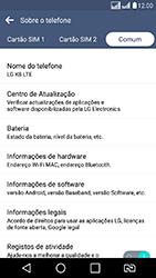 Como atualizar o software do seu aparelho - LG K8 - Passo 13
