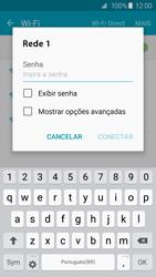 Como configurar uma rede Wi-Fi - Samsung Galaxy S6 - Passo 6