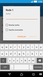 Como configurar uma rede Wi-Fi - Sony Xperia M4 Aqua - Passo 6