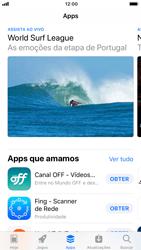 Como baixar aplicativos - Apple iPhone 8 - Passo 5