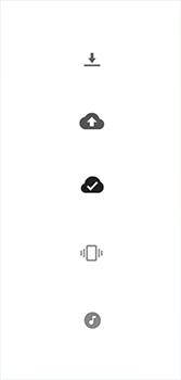 Explicação dos ícones - Motorola Moto G7 - Passo 29
