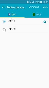 Como configurar a internet do seu aparelho (APN) - Samsung Galaxy J7 - Passo 17