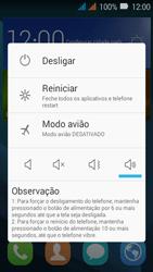 Como reiniciar o aparelho - Huawei Y3 - Passo 3