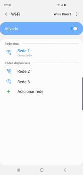 Como configurar uma rede Wi-Fi - Samsung Galaxy S10 - Passo 8