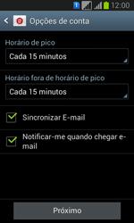 Como configurar seu celular para receber e enviar e-mails - Samsung Galaxy Win - Passo 15