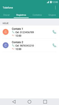 Como bloquear chamadas de um número específico - LG G5 Stylus - Passo 3