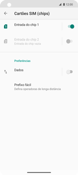 Como ativar e desativar uma rede de dados - Motorola Edge - Passo 7
