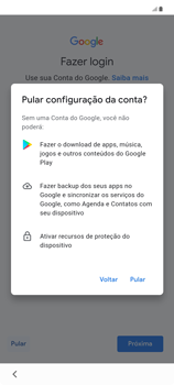 Como configurar pela primeira vez - Samsung Galaxy Note 20 5G - Passo 9