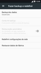 Como restaurar as configurações originais do seu aparelho - Motorola Moto C Plus - Passo 5