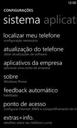 Como restaurar as configurações originais do seu aparelho - Nokia Lumia 920 - Passo 4