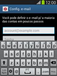 Como configurar seu celular para receber e enviar e-mails - Samsung Galaxy Pocket - Passo 5