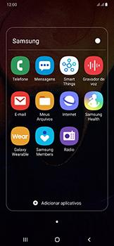 Como configurar a internet do seu aparelho (APN) - Samsung Galaxy A50 - Passo 20