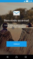 Como configurar seu celular para receber e enviar e-mails - Sony Xperia M4 Aqua - Passo 5