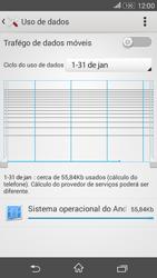 Como ativar e desativar uma rede de dados - Sony Xperia E4G - Passo 6