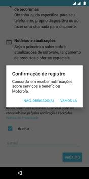 Como configurar pela primeira vez - Motorola Moto G6 Plus - Passo 19