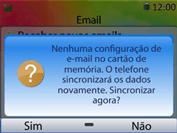Como configurar seu celular para receber e enviar e-mails - Huawei U6020 - Passo 14