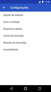 O celular não faz chamadas - Motorola Moto G5s Plus - Passo 18