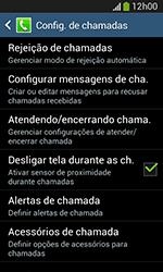Como bloquear chamadas de um número específico - Samsung Galaxy Grand Neo - Passo 6