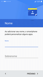 Como configurar pela primeira vez - Samsung Galaxy S7 - Passo 8