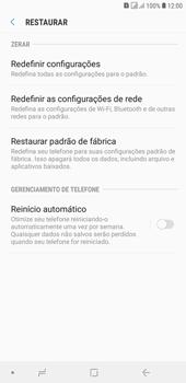 Como restaurar as configurações originais do seu aparelho - Samsung Galaxy J4+ - Passo 6
