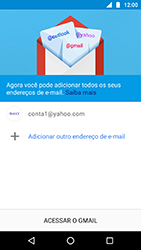 Como configurar seu celular para receber e enviar e-mails - Motorola Moto X4 - Passo 13