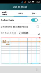 Como ativar e desativar uma rede de dados - Huawei Y3 - Passo 4
