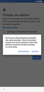 Como configurar pela primeira vez - Samsung Galaxy S9 Plus - Passo 15