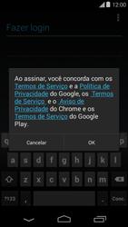 Como configurar seu celular para receber e enviar e-mails - Motorola Moto E (1ª Geração) - Passo 12