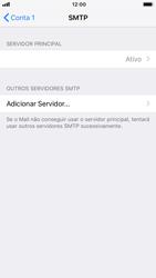 Como configurar seu celular para receber e enviar e-mails - Apple iPhone 8 - Passo 17