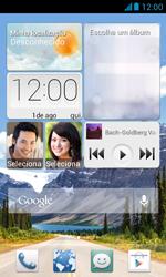 Como baixar aplicativos - Huawei Y340 - Passo 1