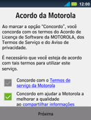 Como ativar seu aparelho - Motorola Master - Passo 6