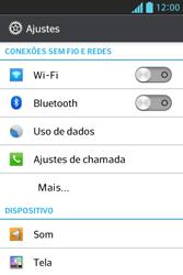 Como configurar a internet do seu aparelho (APN) - LG Optimus L5 - Passo 3