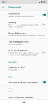 Como melhorar a velocidade da internet móvel - Motorola Moto E6 Plus - Passo 9