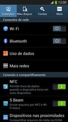 Como ativar e desativar o modo avião no seu aparelho - Samsung Galaxy S IV - Passo 3
