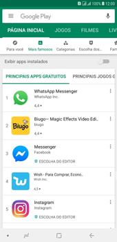 Como baixar aplicativos - Samsung Galaxy J8 - Passo 5