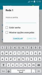 Como configurar uma rede Wi-Fi - Samsung Galaxy A5 - Passo 6
