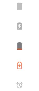 Explicação dos ícones - Motorola Moto G 5G Plus - Passo 8