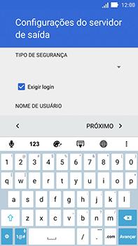 Como configurar seu celular para receber e enviar e-mails - Asus ZenFone Go - Passo 22