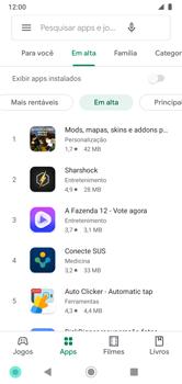 Como baixar aplicativos - Motorola Moto G7 Power - Passo 8