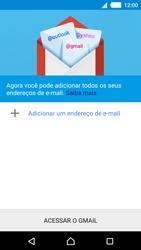 Como configurar seu celular para receber e enviar e-mails - Sony Xperia M4 Aqua - Passo 6