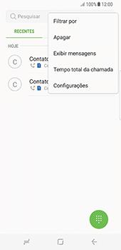 Como bloquear chamadas de um número específico - Samsung Galaxy S8 - Passo 5