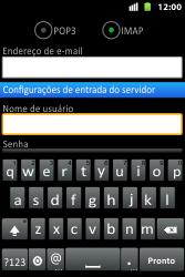 Como configurar seu celular para receber e enviar e-mails - Huawei U8667 - Passo 9
