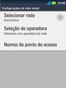 Como configurar a internet do seu aparelho (APN) - Motorola Master - Passo 5