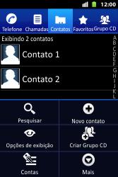 Como bloquear chamadas de um número específico - Huawei U8667 - Passo 6