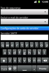 Como configurar seu celular para receber e enviar e-mails - Huawei U8667 - Passo 12
