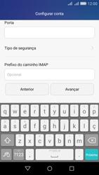 Como configurar seu celular para receber e enviar e-mails - Huawei Y6 - Passo 12