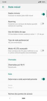Como conectar à internet - Motorola Moto E6 Plus - Passo 12