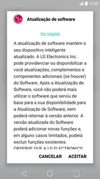 Como atualizar o software do seu aparelho - LG G5 Stylus - Passo 7